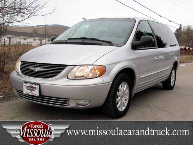 2001 Silver Chrysler Town & Country
