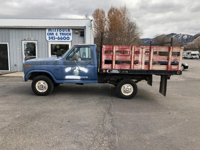 1985 Ford F-150 Regular Cab 4WD