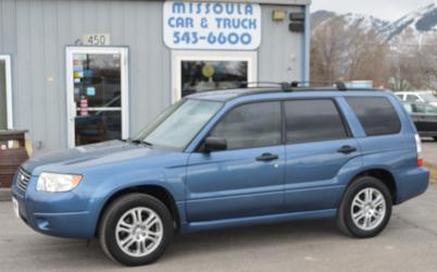2007 Subaru Forester 2.5X AWD, New Timing Belt