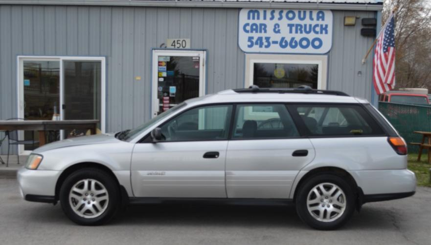 2004 Subaru Outback Wagon w/All-weather Package AWD