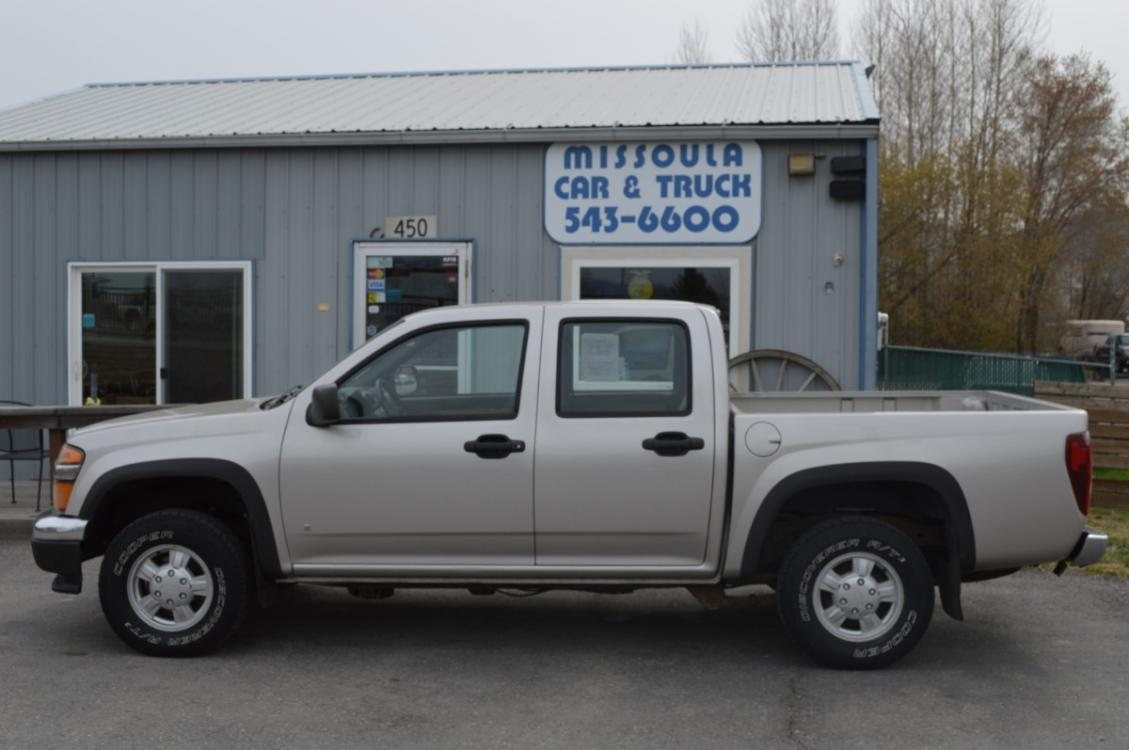 2006 Pewter Chevrolet Colorado LT1 Crew Cab 4WD (1GCDT136568) with an 3.5L L5 DOHC 20V engine, 4-Speed Automatic Overdrive transmission, located at 450 N Russell, Missoula, MT, 59801, (406) 543-6600, 46.874496, -114.017433 - Photo #0