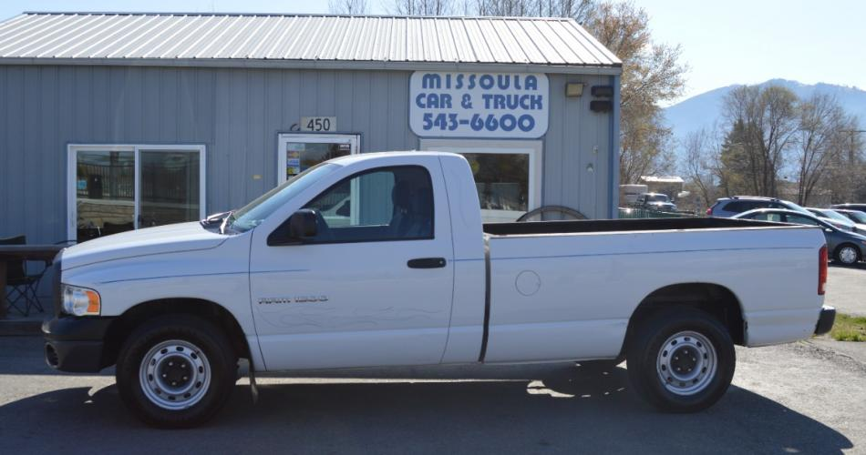 2004 Dodge Ram 1500 ST 2WD 5 Speed Manual only 80k Miles